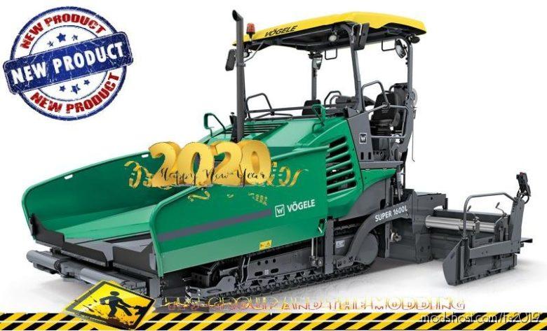 Finisher Vogele 1600-3 V1.5 for Farming Simulator 2019