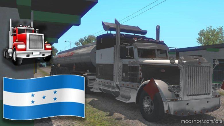 Map Of West Honduras [1.36.X] for American Truck Simulator