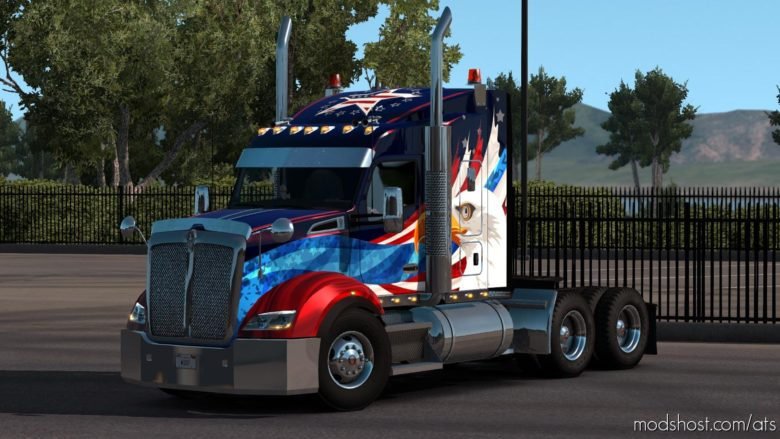 Kenworth T610 Sound FIX V1.6.3 for American Truck Simulator