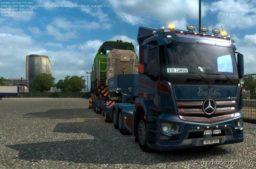 Mercedes Antos 12 R 1.36.2.17 for Euro Truck Simulator 2