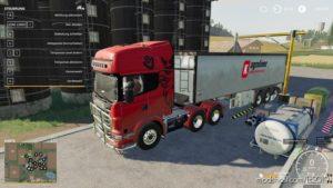 Scania R730 Semi 3 Axle By Ap0Llo V1.0.0.1 for Farming Simulator 2019