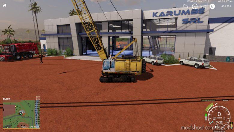 Liebherr Hs875Hd V0.1 for Farming Simulator 2019