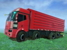 Jiefang J6P H Truck for MudRunner