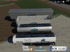 Pack Trailers Global Company By Bob51160 for Farming Simulator 2019
