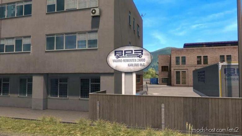 Real Logos Companies In Bulgaria, Romania And Turkey 1.36.X for Euro Truck Simulator 2