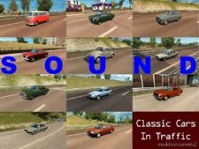 Sounds For Classic Cars Traffic Pack By Trafficmaniac V4.0 for Euro Truck Simulator 2