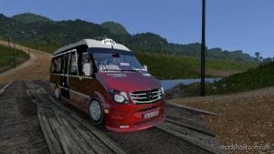Mercedes Sprinter 2017 Dolmus V1.4 for American Truck Simulator