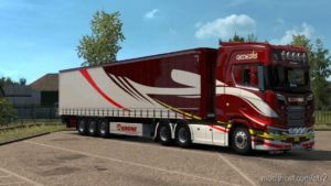 Scania S + Krone Trailer Genesis Skin for Euro Truck Simulator 2