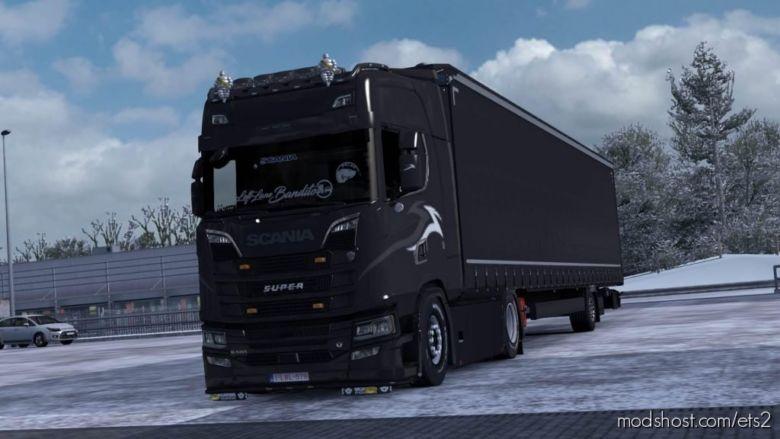 Skin Addons Left Lane Bandito For Schullis Skin Sticker for Euro Truck Simulator 2