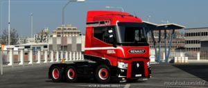 Roml Cargo Logistics Special Renault T Range Skin for Euro Truck Simulator 2