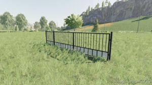 Black Placeable Gate for Farming Simulator 2019