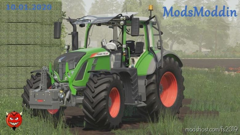 Fendt 700 Vario S4 Serie V1.5 for Farming Simulator 2019