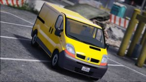 Renault Trafic II.1 Fourgon [Add-On | Extras] for Grand Theft Auto V