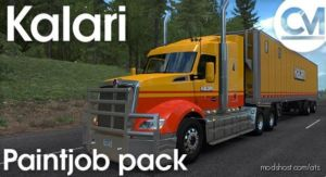 Kalari Transport Paintjob Pack for American Truck Simulator
