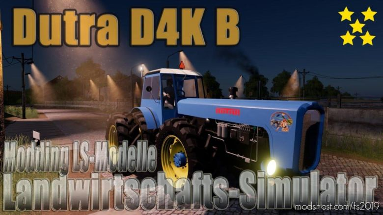 Dutra D4K B for Farming Simulator 2019