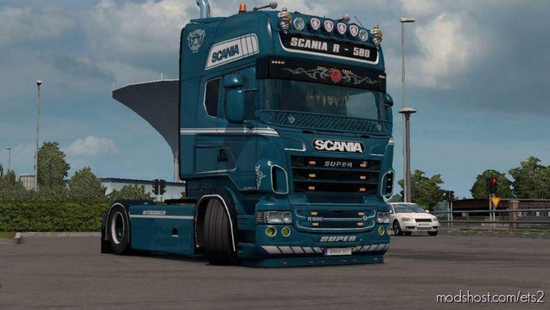 Scania R580 Skin For Scania RJL for Euro Truck Simulator 2
