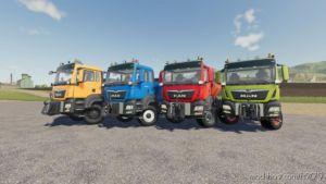 MAN TGS Winter Service for Farming Simulator 2019