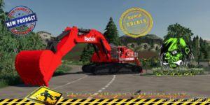 Excavatrice Poclain 1000 V1.5 for Farming Simulator 2019