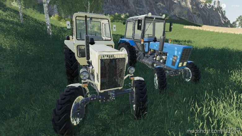 MTZ Pack V1.0.0.2 for Farming Simulator 2019