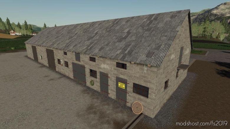 Polish Brick Barn for Farming Simulator 2019