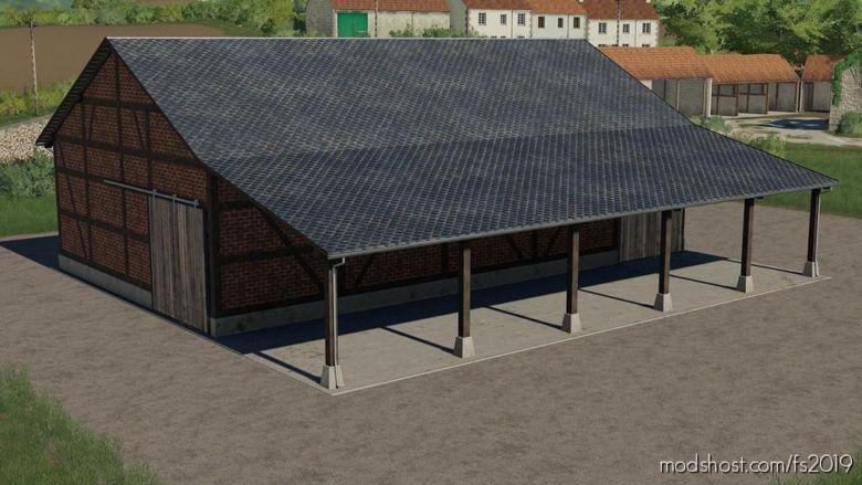 Half-Timbered Barn for Farming Simulator 2019