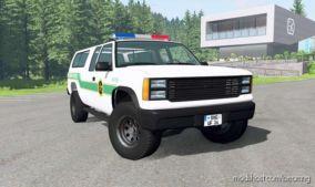 Gavril D-Series U.S. Border Patrol V2.1 for BeamNG.drive