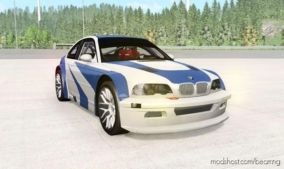 BMW M3 GTR (E46) NFS MW Edition for BeamNG.drive
