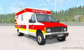 Gavril H-Series German Ambulance CAR V1.3 for BeamNG.drive