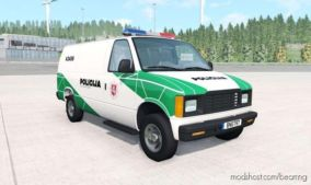 Gavril H-Series Lithuanian Police V1.2 for BeamNG.drive