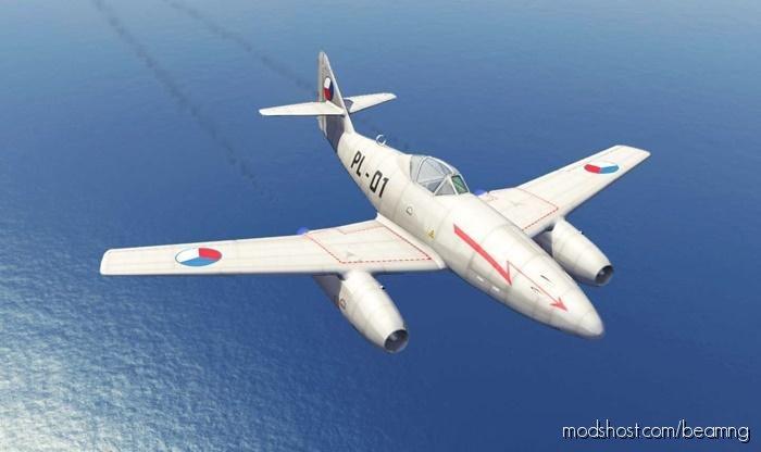 Messerschmitt ME 262 Plane V1.1 for BeamNG.drive