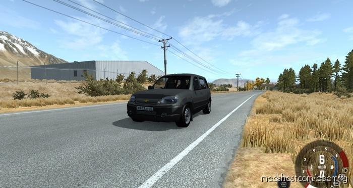 Chevrolet Niva DAR Grey for BeamNG.drive