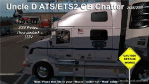 2020 Uncle D CB Chatter V1.36G for American Truck Simulator