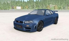 Nissan Skyline GT-R Nismo Z-Tune (R34) 2005 for BeamNG.drive