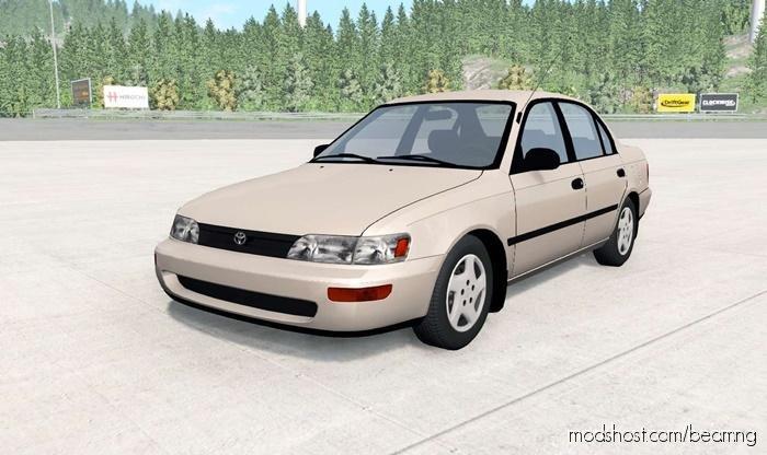 Toyota Corolla Sedan 1993 for BeamNG.drive