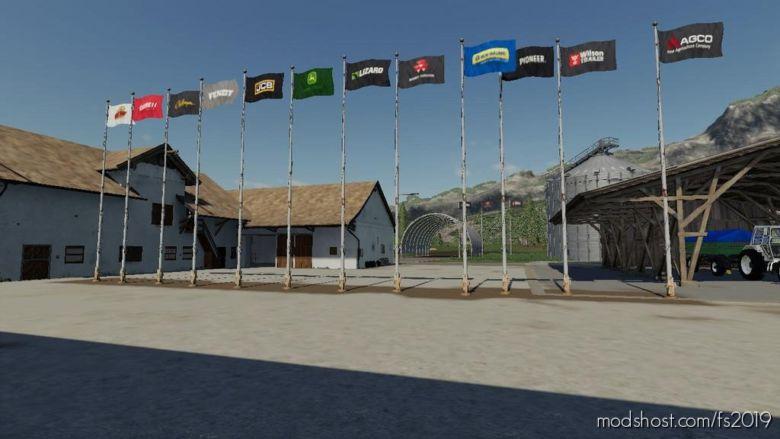 Flags for Farming Simulator 2019