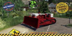 Dozer Poclain DC20 V1.5 for Farming Simulator 2019
