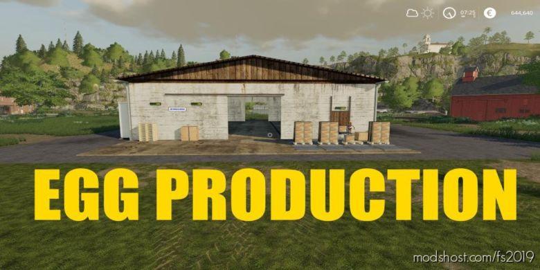 EGG Production for Farming Simulator 2019