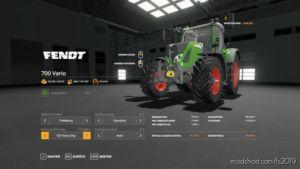 Fendt Pack V1.1.4.2 for Farming Simulator 2019