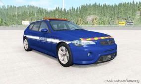 ETK 800-Series Gendarmerie for BeamNG.drive