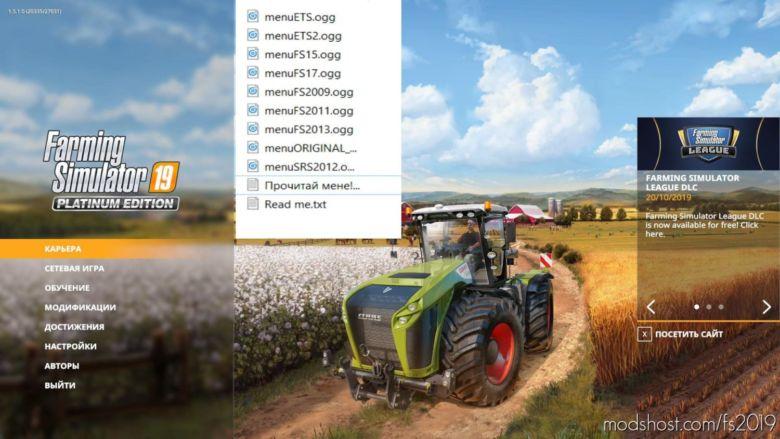 NEW Menu Songs For Farming Simulator for Farming Simulator 2019