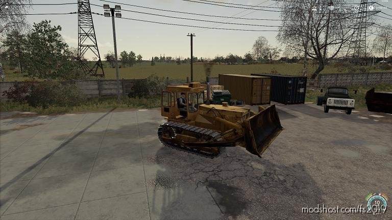 Chtz T 130 for Farming Simulator 2019