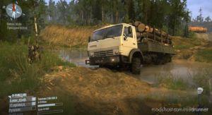 51 RUS Map for MudRunner