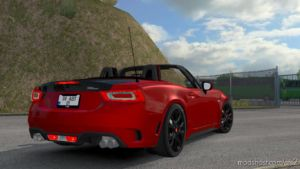 Fiat 124 Spider V1R20 [1.36] for Euro Truck Simulator 2