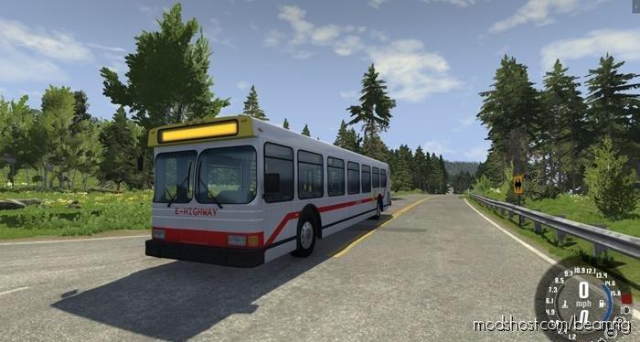 Wentward ET40L BUS V0.9 for BeamNG.drive