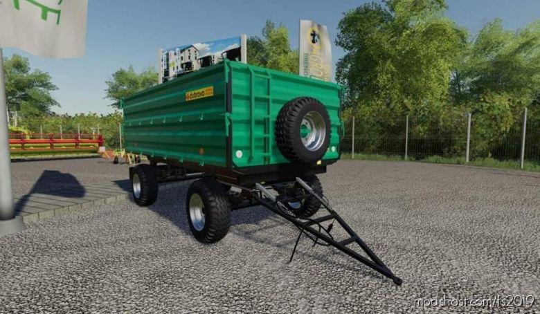 Dubrava 10T By Uzvecefs for Farming Simulator 2019