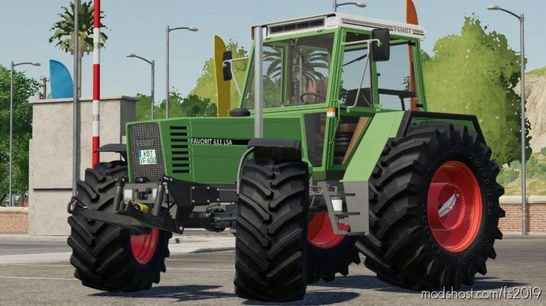 Fendt Favorit 600 LSA Pack V1.2 for Farming Simulator 2019