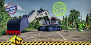 Komatsu Pc1800Xl Terex V1.5 for Farming Simulator 2019