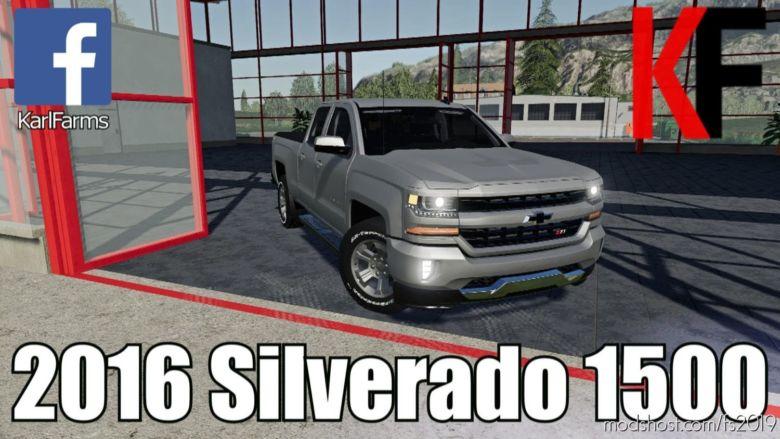 Chevrolet Silverado 1500 for Farming Simulator 2019