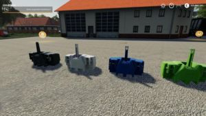 XXL Gewichte Pack V2.0 for Farming Simulator 2019