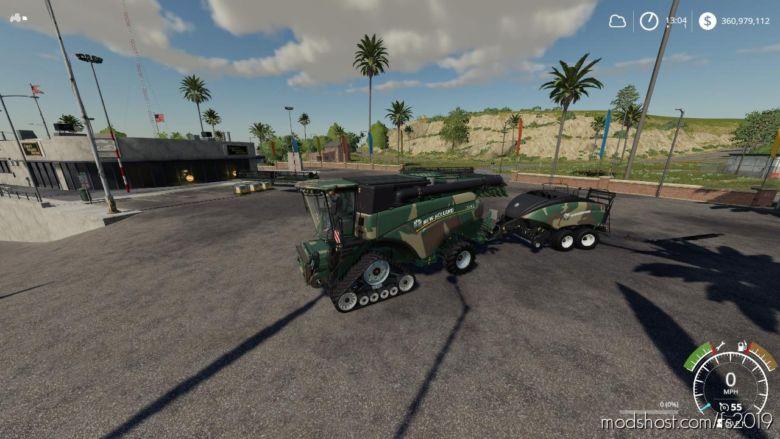 Eagle355Th Camo NEW Holland Pack for Farming Simulator 2019